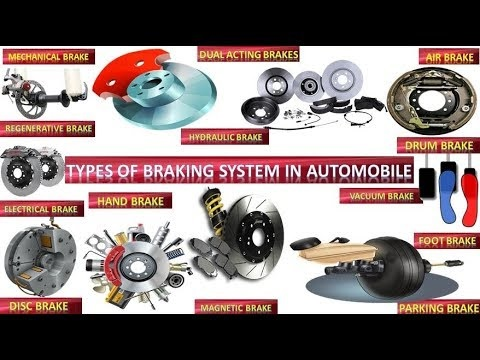 Types of Braking System in Automobile