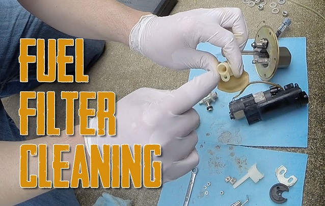 How to Cleaning fuel-pump filters