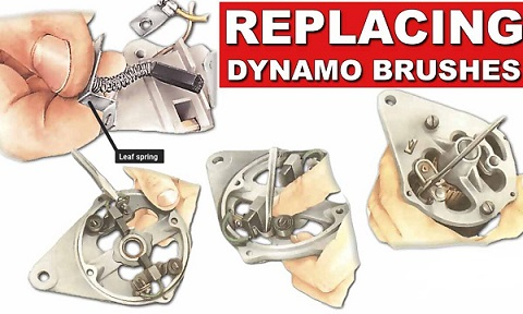How to Replacing Dynamo Brushes