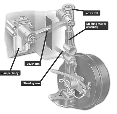 How to Replacing lever-arm dampers
