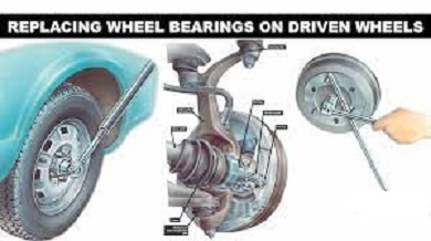How to Replacing wheel bearings on driven wheels