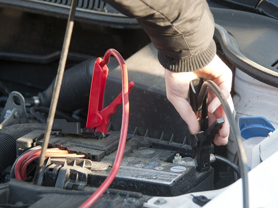 How to Using a car battery charger