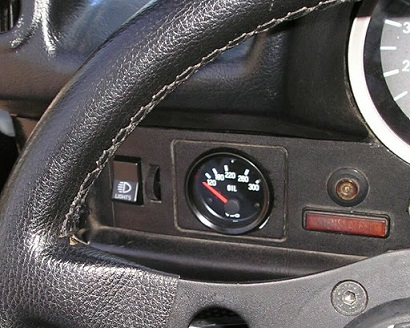 How to install an oil temperature gauge