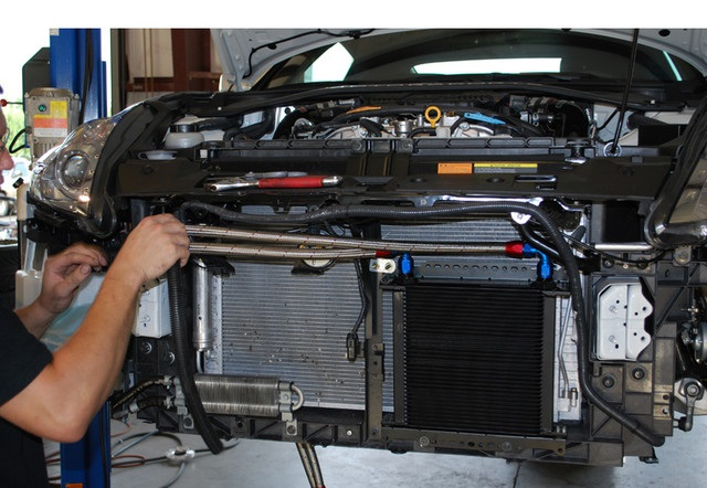 Engine Oil radiator and How to fitting an oil radiator