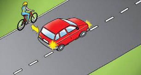Road positioning and Driving Test Tips